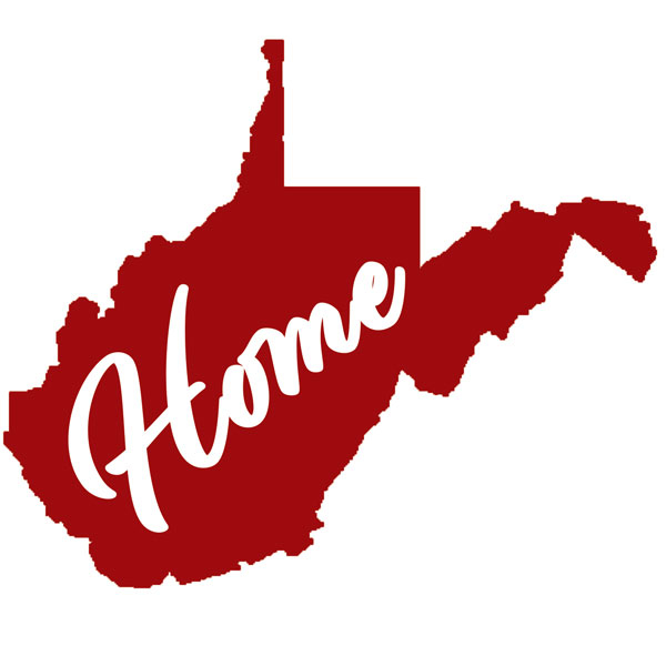 West VirginiaHome Decal Red